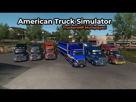 American Truck Simulator - TruckersMP -- Livestream 06/07/2019