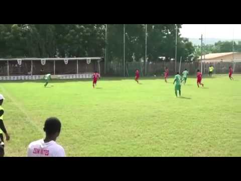 VIDEO: Watch Vision FC's star Gideon 'Young Muller' Offei's strike against Zein FC