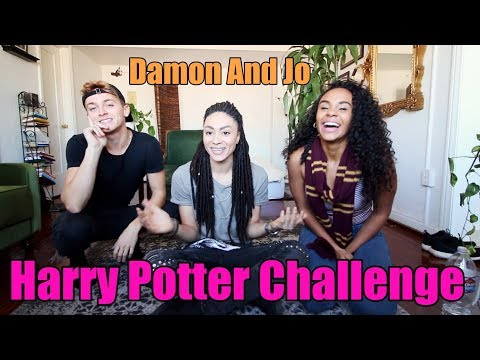 connectYoutube - Harry Potter Challenge W/ Damon & Jo