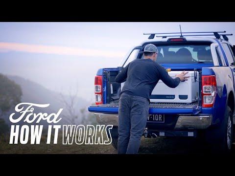 Slik sikrer man en last med surrefester | Ford Ranger | Ford Norge