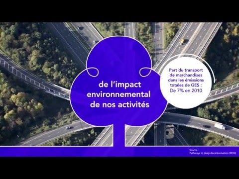 Les initiatives de GEODIS en faveur de l'environnement