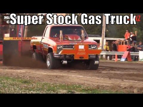 Super Stock Gas Truck Class At TTPA Truck Pulls In Port Hope MI 2018