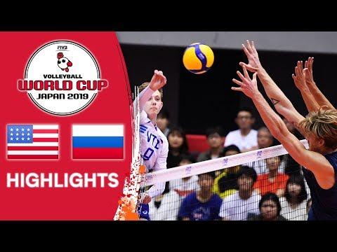 USA vs. Russia - Match Highlights