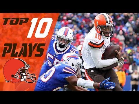 Browns Top 10 Plays of the 2016 Season | NFL Highlights