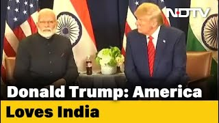 """America Loves India"": Trump Thanks PM Modi For US Independence Day Wish - NDTV"