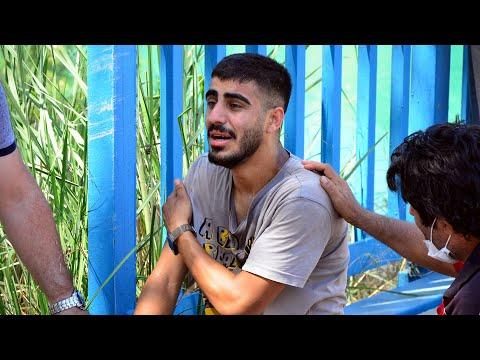 Boğulan gencin arkadaşının 'Allah'ım ne olur ona bir şey olmasın' feryadı