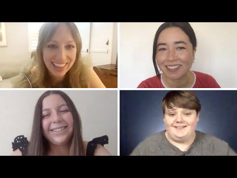 """The Cast Of """"Pen15"""" Test Their Millennial And Gen-Z Slang"""