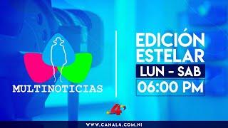 (EN VIVO) Multinoticias Edición Estelar, martes 3 de marzo de 2020