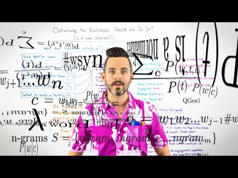 Optimizing for RankBrain... Should We Do It? (Is It Even Possible?) - Whiteboard Friday