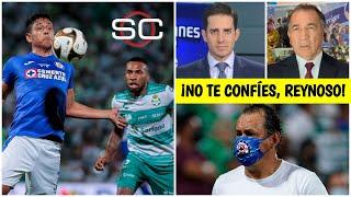 Mario Carrillo alerta al CRUZ AZUL: La ventaja que tiene no es definitiva para SANTOS   SportsCenter
