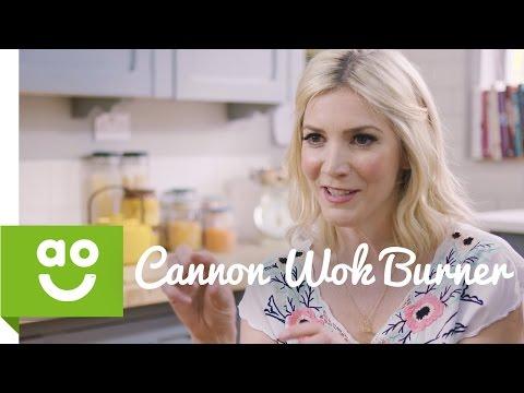 Cannon's Wok Burner with Lisa Faulkner | ao.com