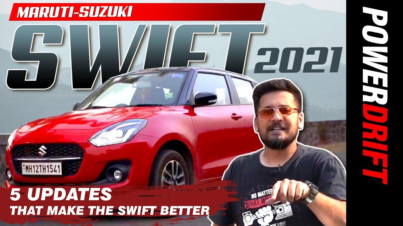 2021 ಮಾರುತಿ ಸ್ವಿಫ್ಟ್ | ಪ್ರಥಮ drive ವಿಮರ್ಶೆ | powerdrift