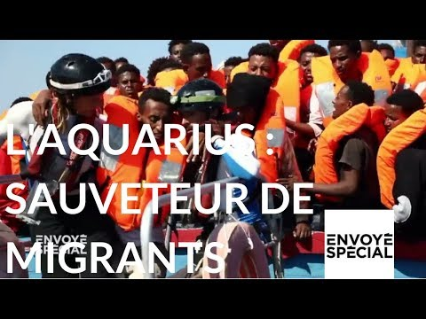 nouvel ordre mondial | Envoyé spécial. Sauveteurs de migrants en Méditerranée - 21 décembre 2017 (France 2)