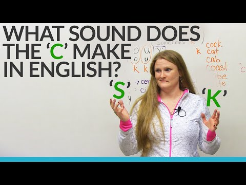Learn English: Does the C sound like S or K?