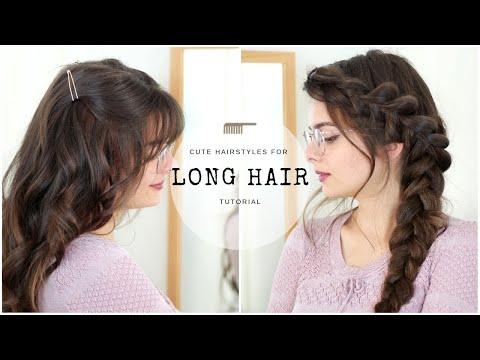 Cute & Easy Hairstyles for Long Hair