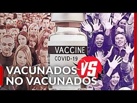 La Batalla De Los Vacunados VS No Vacunados | Antinoti