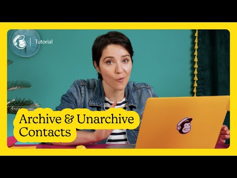 How to Archive & Unarchive Contacts in Mailchimp (March 2021)