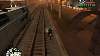 GTA San Andreas. Прохождение: Не по ту сторону рельс (миссия 15).