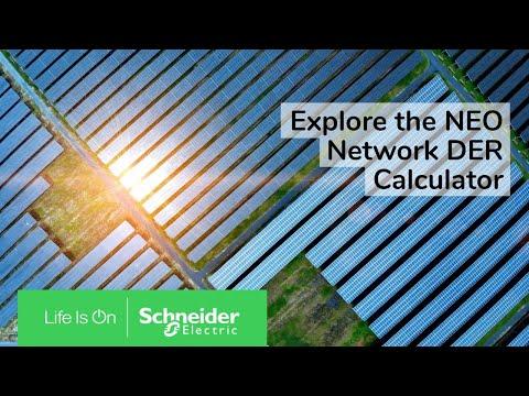 Explore the NEO Network DER Calculator   Schneider Electric