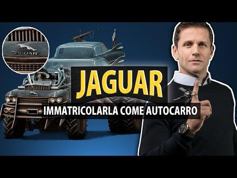 Come avere una JAGUAR immatricolata come AUTOCARRO | avv. Angelo Greco