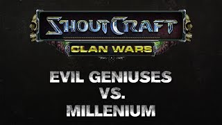 SHOUTCraft Clan Wars - Evil Geniuses vs. Millenium