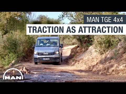 MAN TGE 4x4 – Makes Traction an Attraction.