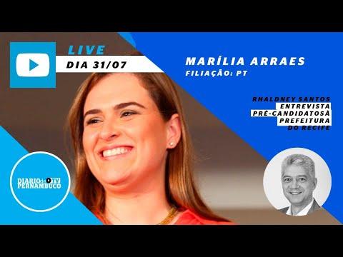 Rhaldney Santos entrevista a pré-candidata à prefeitura do Recife Marília Arraes