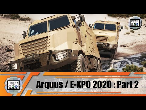 ARQUUS France launches new ARMIS range of all wheel drive military trucks with virtual defense expo