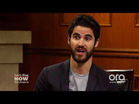 connectYoutube - Darren Criss & Larry King want to talk to animals