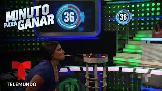 El reto de meter el fideo en las pastas   Minuto para Ganar   Telemundo