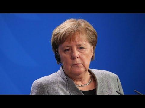 Germany's Merkel in Quarantine