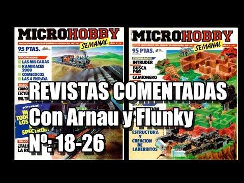 REVISTA MICROHOBBY COMENTADA VOL 3 CON ARNAU Y FLUNKY