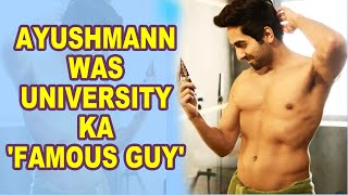 Ayushmann Khurrana shares throwback pic from college days - BOLLYWOODCOUNTRY