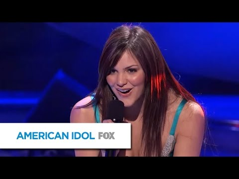 "Katharine McPhee Sings ""Black Horse and the Cherry Tree"" by KT Tunstall - AMERICAN IDOL"
