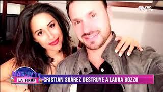 Cristian Suárez destruye a Laura Bozzo: ''Me fue infiel en nuestra propia cama''