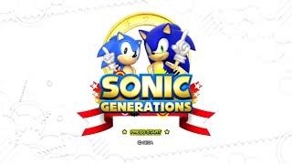 Sonic Generations (HD) playthrough ~Longplay~