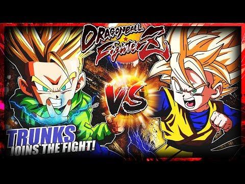 GOTEN VERSUS TRUNKS! DRAGON BALL FIGHTERZ!