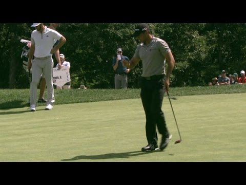 Jason Day's 197-yard tee shot sets up birdie at The Barclays