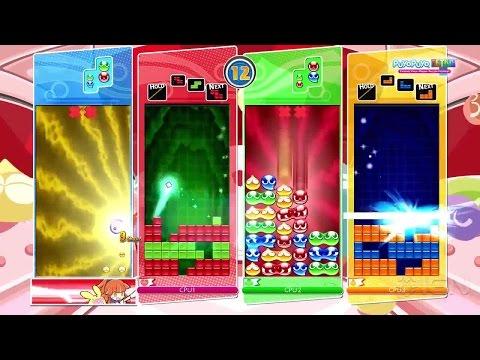 Puyo Puyo Tetris Nintendo Switch Announcement Trailer