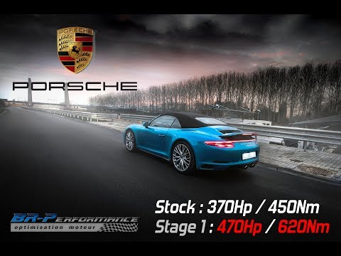 Porsche 911 (991.2) Carrera 4 3.0T Remap Stage 1 By BR-Performance
