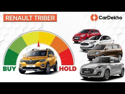 Renault Triber Vs Wagon R, Hyundai Grand i10, Maruti Swift, Ford Figo | #BuyorHold