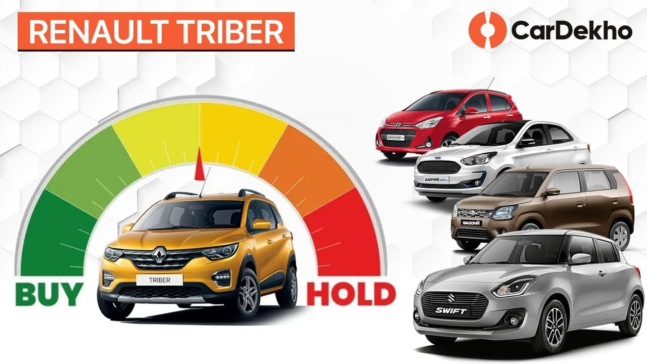 Renault Triber Vs Wagon R, Hyundai Grand i10, Maruti Swift, Ford Figo | #BuyorHold