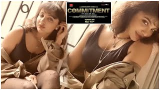 Tejaswi Madivada About Commitment Teaser Date Annoncement | Commitment Movie | TFPC - TFPC