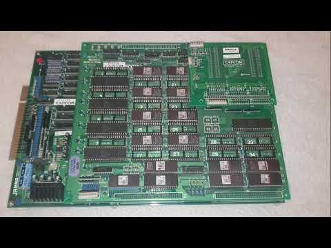 Mercs Arcade Cps1 Capcom Pcb Board