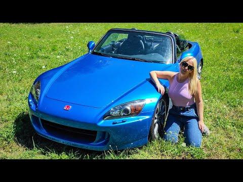 Vanessa Guida l'S2000 a 9000 giri!