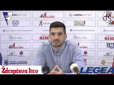 NAJAVA UTAKMICE / FK SPARTAK ŽK - FK JAVOR / IX KOLO LLSLS / 20.09.2019