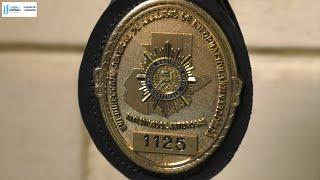 Autoridades de Gobernación entregan chapas a investigadores Antinarcóticos