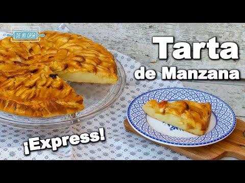 Tarta de Manzana Express Fácil y Rápida | Cómo hacer Tarta de Manzana ??