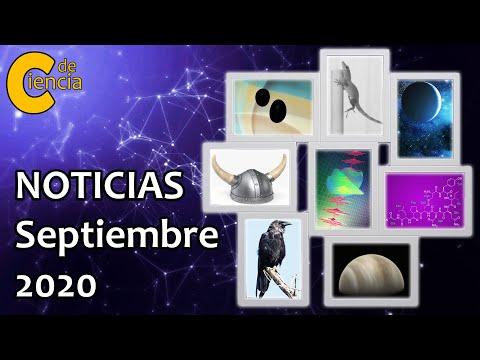 Noticias científicas septiembre 2020
