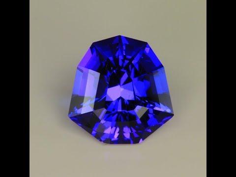 10.14 Carat Shield Tanzanite Gemstone